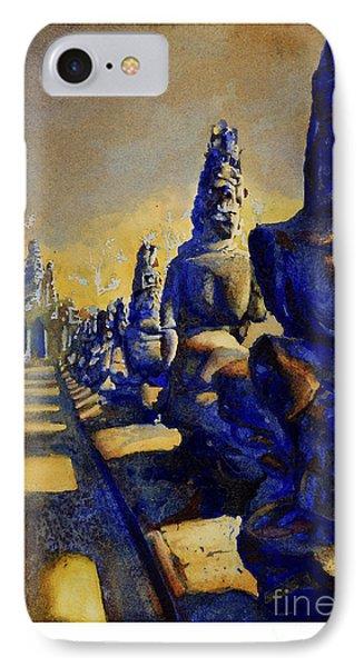 Angkor Wat Ruins Phone Case by Ryan Fox