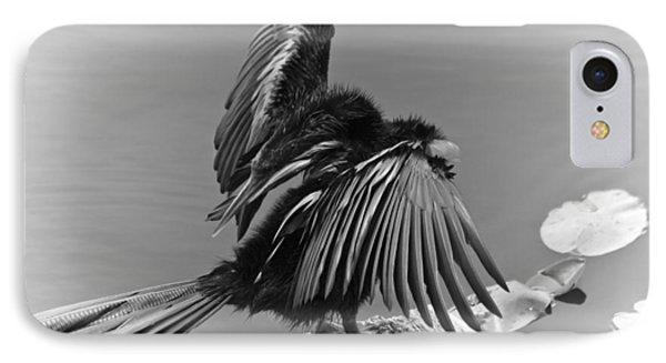 Anhinga Water Bird Phone Case by Carolyn Marshall