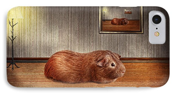 Animal - The Guinea Pig Phone Case by Mike Savad