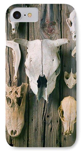Animal Skulls Phone Case by Garry Gay