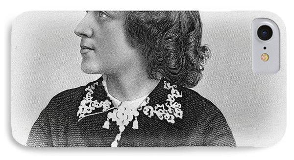 Anna Elizabeth Dickinson Phone Case by Granger