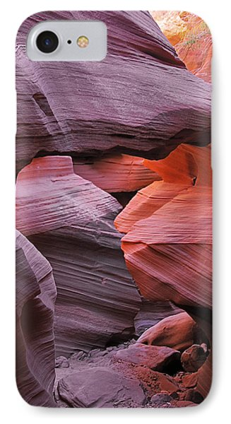 Antelope Canyon - Canvas For Nature's Compositions Phone Case by Christine Till