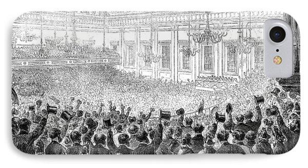 Anti-slavery Meeting, 1863 Phone Case by Granger
