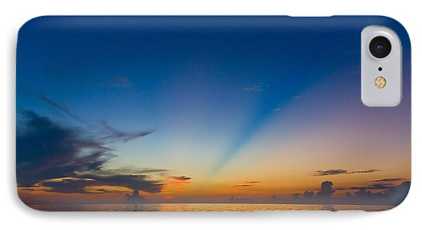 Anticrepuscular Rays Phone Case by Jen TenBarge