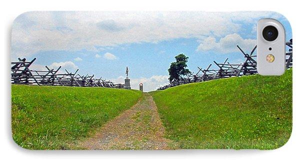 Antietam Battle Of Bloody Lane IPhone Case by Cindy Manero