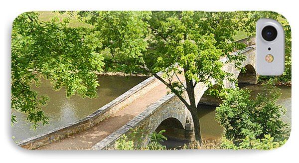 Antietam's Burnside Bridge IPhone Case by Cindy Manero