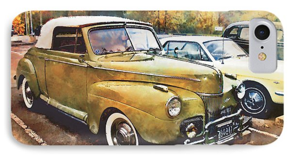 IPhone Case featuring the digital art Antique Car  by Mary Almond