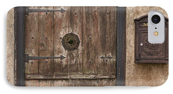 Antique Dutch Door And Mailbox Phone Case by Will & Deni McIntyre