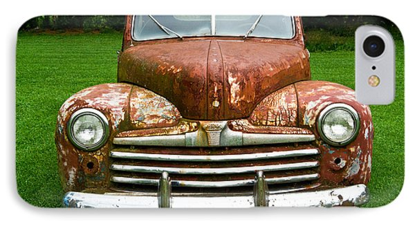 Antique Ford Car 8 Phone Case by Douglas Barnett