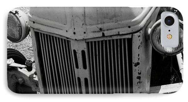Antique Ford Tractor IPhone Case by Toma Caul