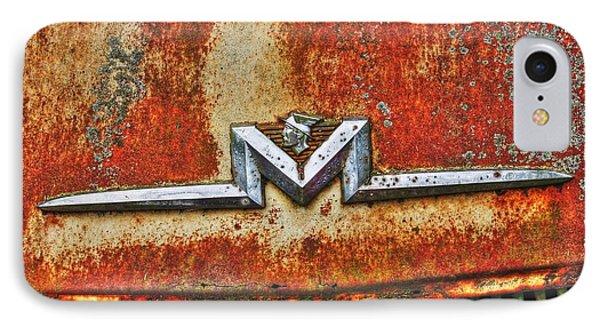 Antique Mercury Auto Logo IPhone Case by Dan Stone