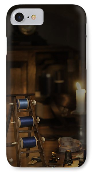 Antique Sewing Items Phone Case by Amanda Elwell