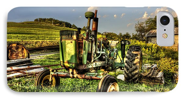 Antique Tractor Phone Case by Dan Friend