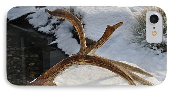 Antler 2 Phone Case by Heather L Wright