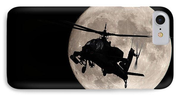 Apache In The Moonlight IPhone Case