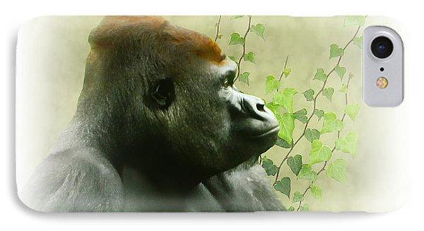 Ape IPhone Case by Sharon Lisa Clarke