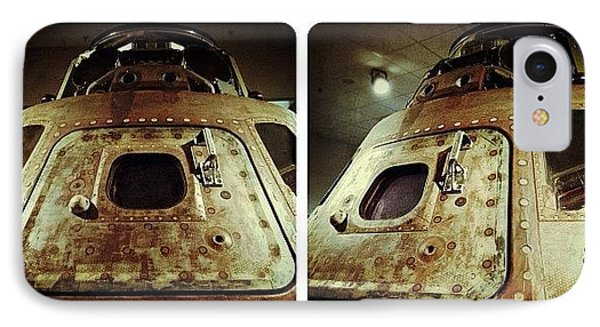 Apollo 15 Command Module (4th Mission IPhone Case by Natasha Marco