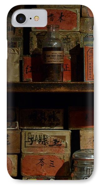 IPhone Case featuring the photograph Apothecary by Newel Hunter