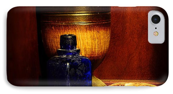 Apothecary - Wood Mortar And Pestle IPhone Case by Paul Ward