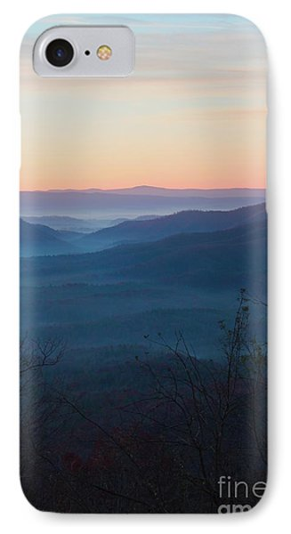 IPhone Case featuring the photograph Appalachian Sunrise by Laurinda Bowling