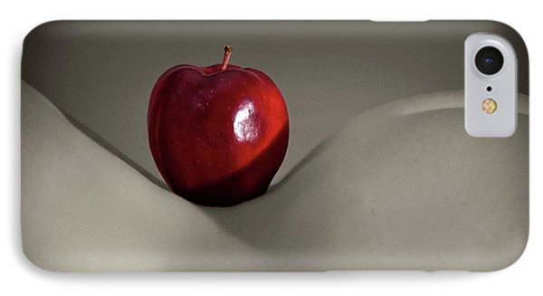 IPhone Case featuring the photograph Apple Bottom by Angelique Olin