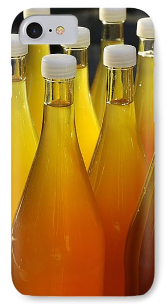 Apple Juice In Bottles Phone Case by Matthias Hauser