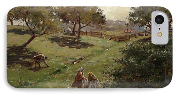 Apple Orchard Phone Case by Luther  Emerson van Gorder