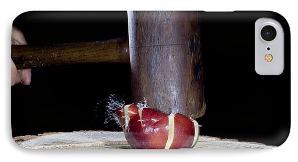 Apple Smashed With Mallet Phone Case by Ted Kinsman