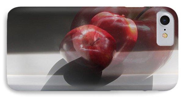 Apple Still Life 2 IPhone Case by Cedric Hampton