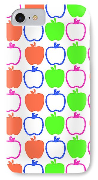 Apples Phone Case by Louisa Knight