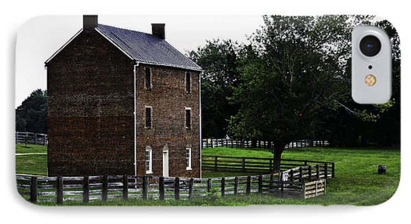 Appomattox County Jail Phone Case by Teresa Mucha