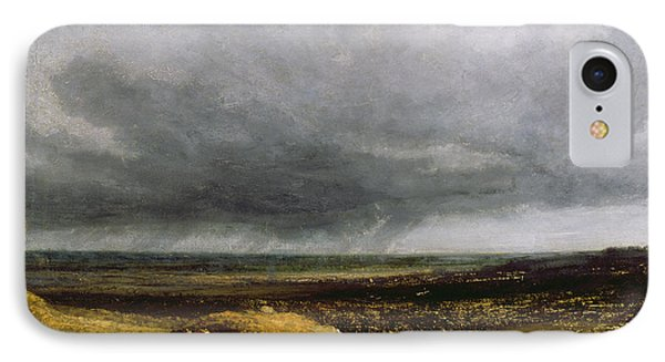 Approaching Storm Phone Case by Georges Michael