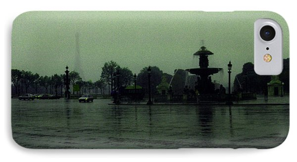 IPhone Case featuring the photograph April Fog With Water Fountain by Louis Nugent