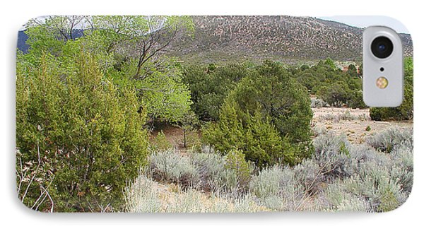 April New Mexico Desert IPhone Case by Kathleen Grace