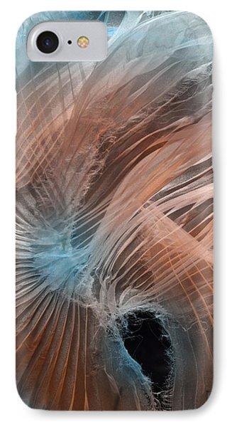 Aqua Amber Texture IPhone Case
