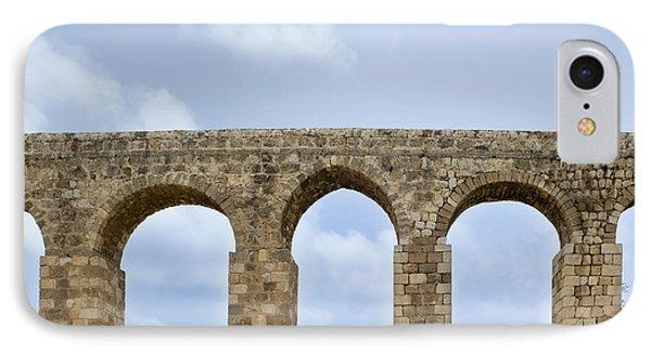 Aqueduct Of Acre Phone Case by Noam Armonn