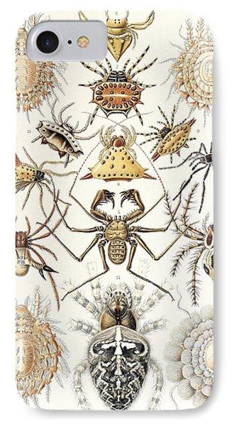 Arachnid Organisms, Artwork IPhone Case by Mehau Kulyk