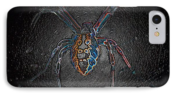 IPhone Case featuring the photograph Arachnophobia by Patrick Witz