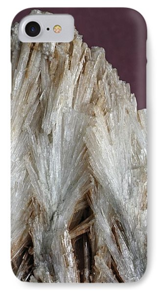 Aragonite Crystals IPhone Case by Dirk Wiersma