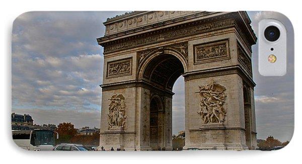 IPhone Case featuring the photograph Arc De Triomphe by Eric Tressler