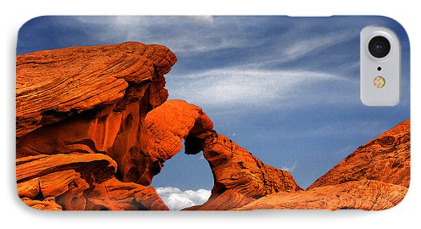 Arch Rock - Amazing Show Of Nature Phone Case by Christine Till