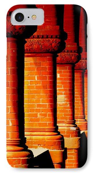 Archaic Columns Phone Case by Karen Wiles
