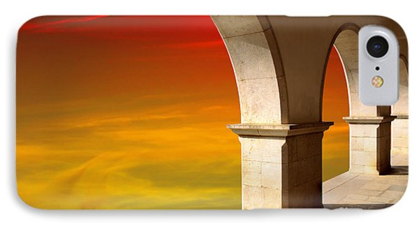 Arches At Sunset Phone Case by Carlos Caetano