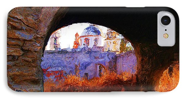 IPhone Case featuring the photograph Arches On The Side Of The Church Of Atotonilco by John  Kolenberg