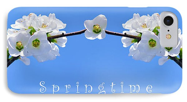 Archway To Springtime Phone Case by Kaye Menner