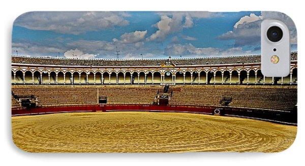 Arena De Toros - Sevilla IPhone Case by Juergen Weiss