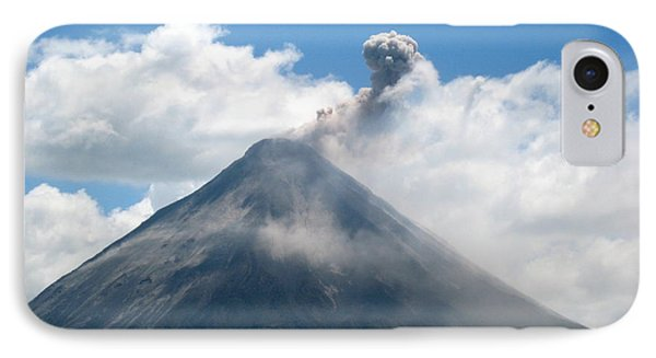 IPhone Case featuring the photograph Arenal Eruption by Eric Tressler