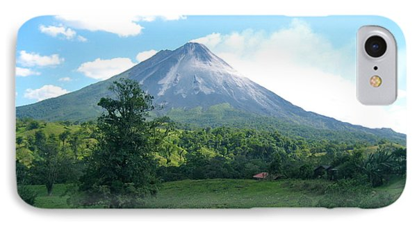 IPhone Case featuring the photograph Arenal by Eric Tressler