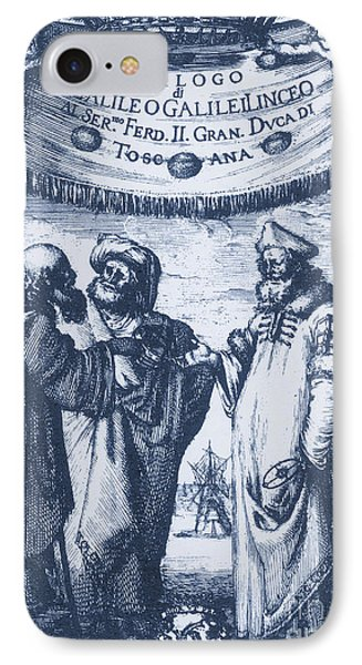 Aristotle, Ptolemy And Copernicus Phone Case by Science Source