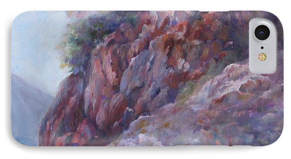 Arizona Cliff IPhone Case by Bonnie Goedecke